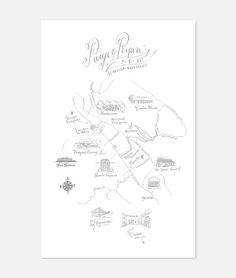wedding maps - holly hollon