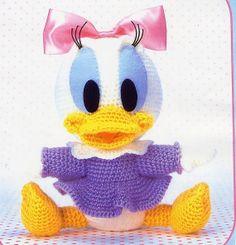 Amigurumi pattern crochet Daisy Baby pdf por YourPatternShop, $2.50