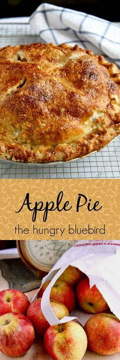 Quintessential Apple Pie ~ perfectly flaky and tender crust.