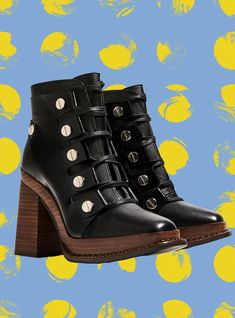 Our Really Big (& Rad) Guide To Buying Ankle Boots This Fall #refinery29  http://www.refinery29.com/best-womens-ankle-boots#slide-5  This burnt-orange color is a cool departure from your average black bootie.Reine Nen Ring Middle Boots, $298, available at W Concept....