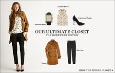 "February 2012   Shopbop ""Our Ultimate Closet"" The Workwear Edition 14 Pieces 10 Looks  [Look 07]"