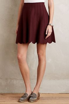 Carmenere Sweater Skirt #anthropologie
