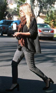Mary-Kate Olsen's elegant shoes