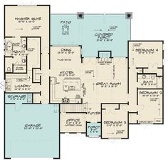Find your dream french-country style house plan such as Plan which is a 2503 sq ft, 4 bed, 3 bath home with 2 garage stalls from Monster House Plans. European Plan, European House Plans, Best House Plans, Dream House Plans, House Floor Plans, European Style, French Country House Plans, Modern French Country, French Country Decorating