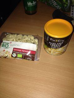 Vegane Tortellini mit Käsesauce