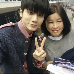 Ong and Daniel's mother