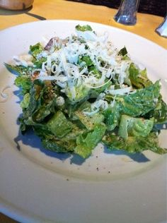 Great Ceasar Salad from Topo Gigio