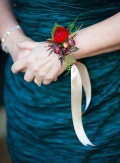delicate wrist corsage - Google Search