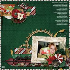 Layout by Wendy Tunison Designs using In the Spirit
