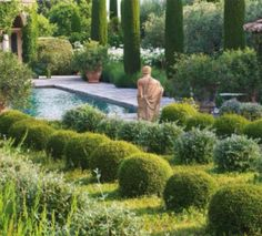 Yves St Laurent's private garden in Provence