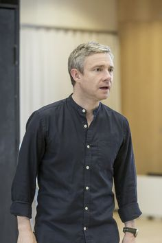 Images have been released of rehearsals for James Graham's new political comedy, Labour of Love, which opens at the Noel Coward Theatre this month. http://www.whatsonstage.com/london-theatre/news/pictures-martin-freeman-tamsin-greig-labour-love_44661.html