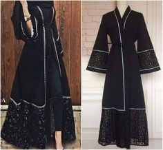 Due to the difference between different monitors, the picture may not reflect the actual color of the item. Iranian Women Fashion, Islamic Fashion, Muslim Fashion, Abaya Fashion, Fashion Outfits, Party Gown Dress, Mode Abaya, Abaya Designs, Muslim Dress