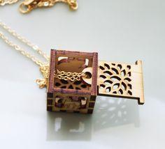 Woodland Animals Treasure Locket #jewelry