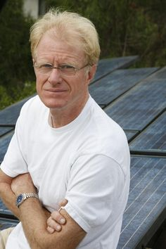 Ed Begley Jr. Actor, environmentalist, and solar enthusiast. Member of the Solar Living Institute.