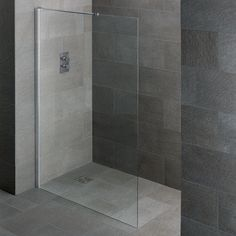 Crossover Walk In Wet Room Shower Screen Wide - floor mounted Wet Room Shower Screens, Small Wet Room, Wet Room Flooring, Multiple Shower Heads, Kitchen Pantry Design, Wet Floor, Wet Rooms, Simple Bathroom, Downstairs Bathroom