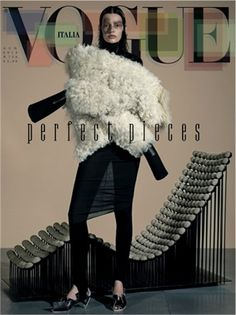Perfect Pieces by Steven Meisel, August 2013