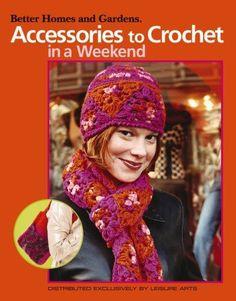 Accessories To Crochet In A Weekend - I Crochet World Crochet Kits, Crochet World, Knitting, Hats, Accessories, Fashion, Moda, Tricot, Hat