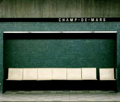 C H A M P - D E - M A R S. Subway station, Montreal, Canada.