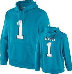 08cc661075d Carolina Panthers Nike Performance Name and Number Cam Newton Hoodie  Carolina Panthers Hoodie, Nfl T