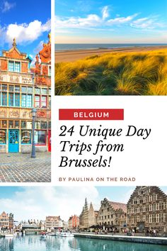 Looking for the best day trips from Brussels, Belgium? This is the ultimate list incl. must see's as Bruges or Ghent, but also hidden gems like Tournai or Ypres. #Brussels #Belgium Best Travel Guides, Brussels Belgium, Train Rides, Bruges, Day Tours, European Travel, Day Trip, Best Hotels, Cool Places To Visit