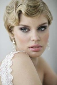Peachy Great Gatsby Makeup Short Hairstyles And Hairstyles For Short Short Hairstyles Gunalazisus