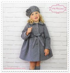 Spanish clothes for babies, boys and girls Worldwide shipping. I leave the link of the store online: www. Baby Girl Fashion, Kids Fashion, Toddler Outfits, Kids Outfits, Baby Coat, Kids Coats, Baby Winter, Baby Girl Dresses, Doll Clothes Patterns