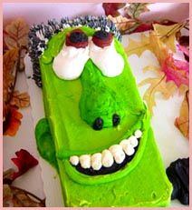 Another cool sheet cake idea for Halloween