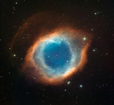 The Helix Nebula captured by La Silla observatory in Chile's Atacama desert.