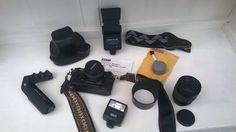 Chinon CE-4s (circa 1990) Vintage SLR Camera Case & Accessories   eBay