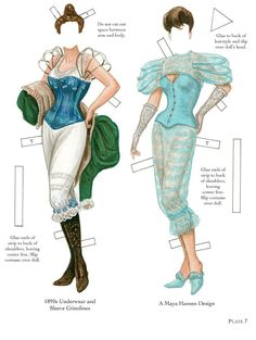 Corset Couture from Dover Publications (4)