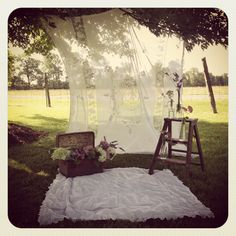Summer Mini Session set up! Rustic and romantic with www.sugarphotostudios.ca