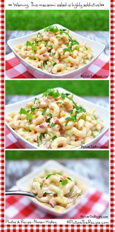 Sweet 'N Creamy Macaroni Salad http://picturetherecipe.com/index.php/recipes/sweet-n-creamy-macaroni-salad/