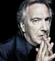 Alan Rickman by Annie Leibovitz You will always be missed.
