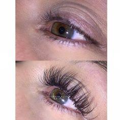 Alongamento de Cílios Antes e Depois #alongamentodecilios #cilios Eyelash Extensions Aftercare, Eyelash Extensions Styles, Fake Lashes, Long Lashes, Artificial Eyelashes, Longer Eyelashes, Eye Makeup Tips, Hair Makeup, Flawless Makeup
