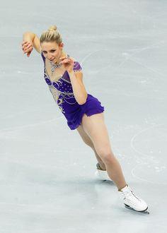 Agnes Zawadzki of USA Ladies Short Rostelecom Cup  2013 Blue Figure Skating / Ice Skating dress inspiration for Sk8 Gr8 Designs.