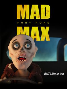 Mad Max: Fury Road by Clay Disarray