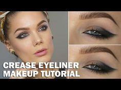 Tutorial – crease eyeliner