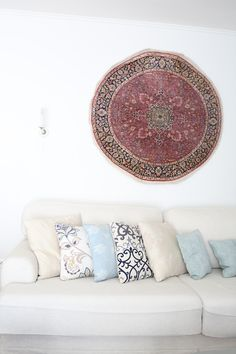 Persian carpet on the wall
