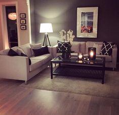 38 Best Living Room Decor Ideas With Farmhouse Style ~ Home Design Ideas Home Living Room, Home N Decor, Home, Living Room Decor Apartment, Apartment Living Room, House Interior, Apartment Decor, Home And Living, First Apartment Decorating