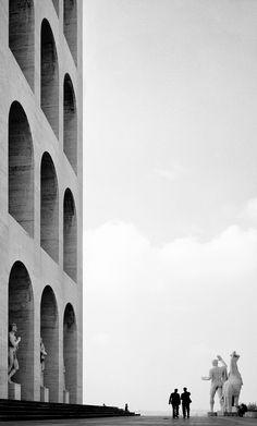 adanvc:  Rome, 1955. by Elio Ciol