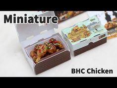 미니어쳐 BHC 맛초킹 치킨 만들기 - Miniature - YouTube