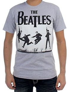 The Beatles Jump Photo Hombre Heather Camiseta #camiseta #friki #moda #regalo