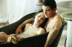 """Angelina Jolie and Antonio Banderas in """"Original Sin"""" 2001 Sweet Texts To Girlfriend, Groom Speech Examples, Everyday Feminism, Thomas Jane, Good Morning Texts, Hollywood Couples, Love Scenes, Brad Pitt, Picture Photo"""