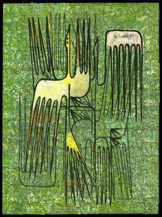 Birds, 1954 | by Hodaka Yoshida. (1926-1995). Woodblock