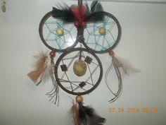 three hoop owl dream catcher
