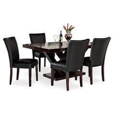 Merveilleux American Signature Furniture   Tempest Caravelle IV Dining Room 5 Pc. Dining  Room $969.95 Value