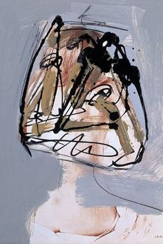 Antonio Saura - Portrait Nº 5, 1974