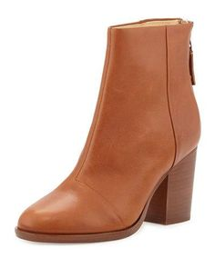 RAG & BONE ASHBY LEATHER ANKLE BOOT, TAN. #ragbone #shoes #boots
