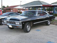 Chevrolet Impala 1967 (el de Supernatural loco!!)