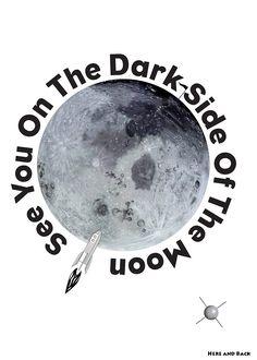 Original artwork/design Artwork Design, Dark Side, The Darkest, Original Artwork, Moon, The Originals, The Moon